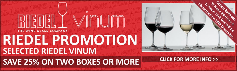 Riedel 25% OFF Vinum
