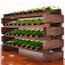 Modularack Wooden Wine Rack 36 Bottle - Dark Stain 4H x 9W