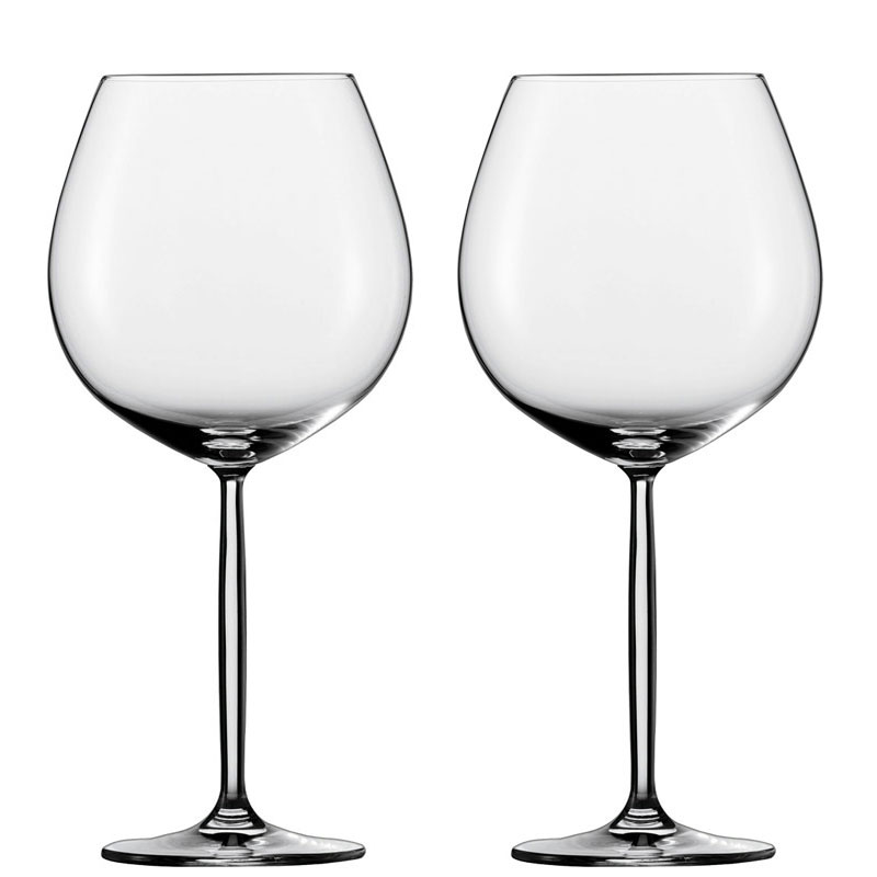 Schott Zwiesel Diva Large Burgundy Glass Set Of 2