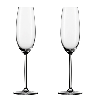 Schott Zwiesel Diva Champagne & Sparkling Wine Glasses / Flute - Set of 2