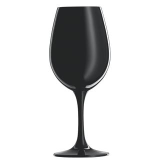 Schott Zwiesel Sensus Black Wine Tasting Glasses - Set of 6 (Blind Wine Tastings)