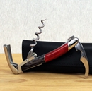 Forge De Laguiole Corkscrew Red and Black Wooden Handle