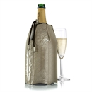Vacu Vin Rapid Ice Champagne Cooler Sleeve - Platinum