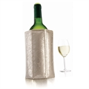 Vacu Vin Rapid Ice Wine Cooler Sleeve - Platinum