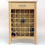 View more bespoke oak wine racks from our Wooden Wine Cabinets range