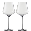Eisch Glas Sky Sensis Plus Burgundy Glass - Set of 2