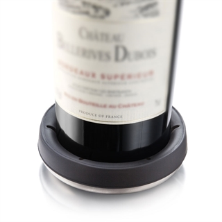 Vacu Vin Wine Bottle Coaster - Stainless Steel