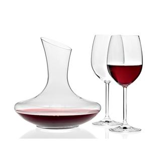 Leonardo Trio - 2 Red Wine Glasses and Wine Decanter Set