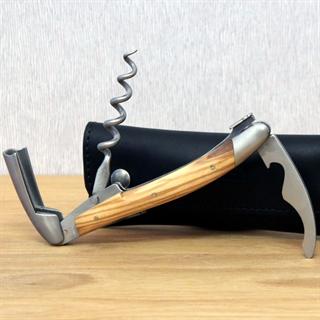 Forge De Laguiole Corkscrew Olive Wood Handle