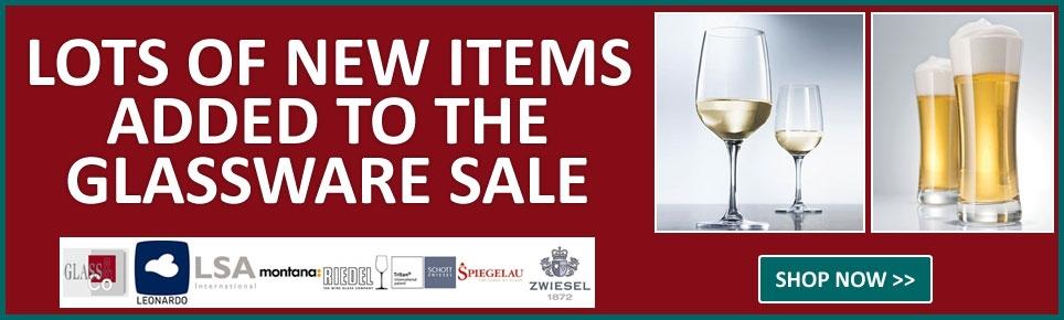 Glassware Sale