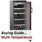 Multi-temperature Wine Cabinet / Cooler Buying Guide