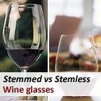 Stemmed vs. Stemless wine glasses