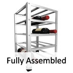 View more big metal wine rack from our Fully Assembled range