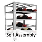 View more big metal wine rack from our Self Assembly range