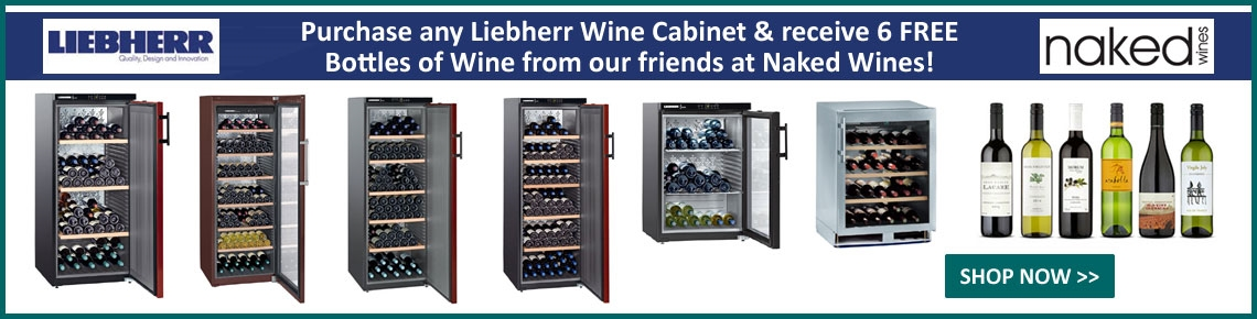 Purchase a Liebherr Cabinet & get 6 FREE Wines!