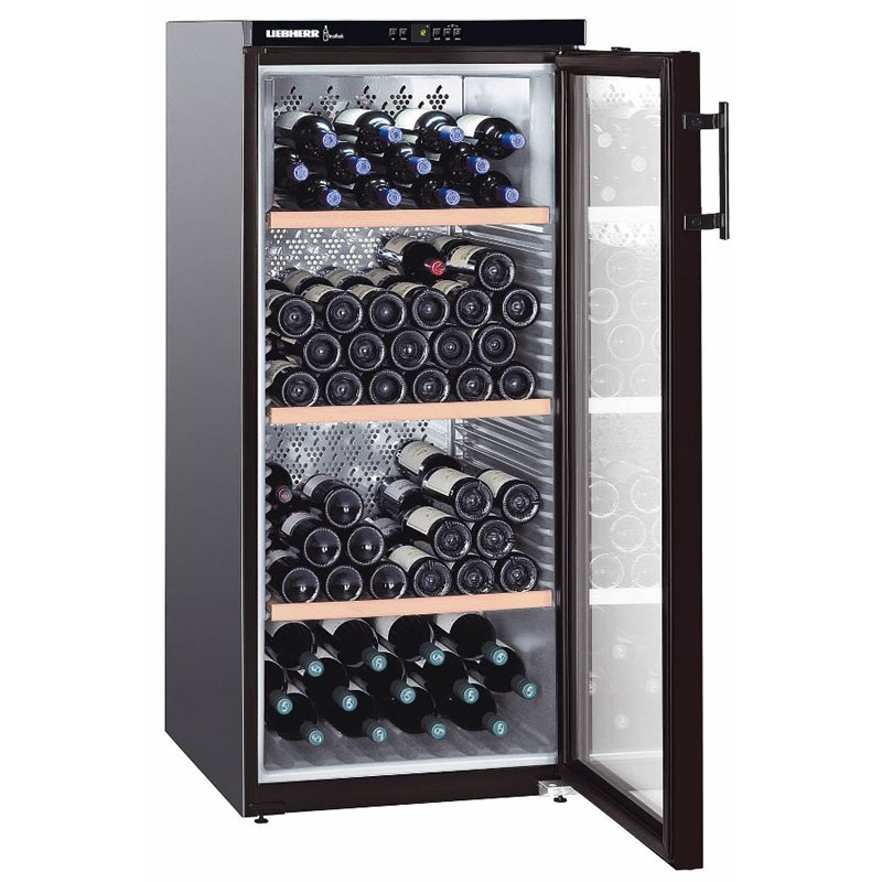 liebherr vinothek single temperature wine cabinet wkb. Black Bedroom Furniture Sets. Home Design Ideas