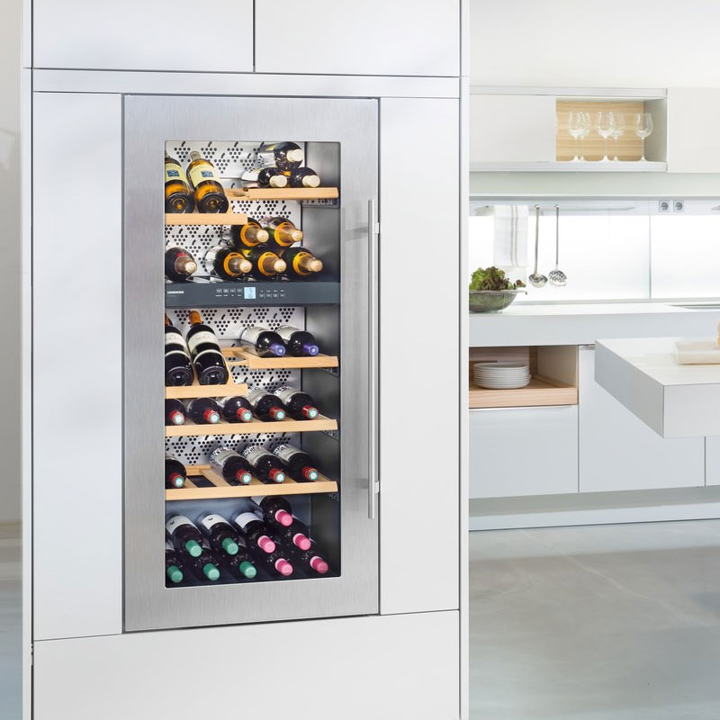 liebherr vinidor built in 2 temperature wine cabinet wtees 2053. Black Bedroom Furniture Sets. Home Design Ideas