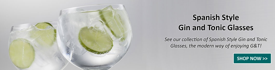Spanish Style Gin and Tonic Glasses!