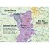 De Long's Wine Map of the Pacific Northwest - Wine Regions