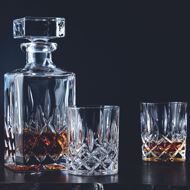 nachtmann noblesse spirit whisky tumbler decanter set glassware uk glassware suppliers. Black Bedroom Furniture Sets. Home Design Ideas