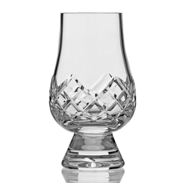 Crystal Cut Scotch Glasses