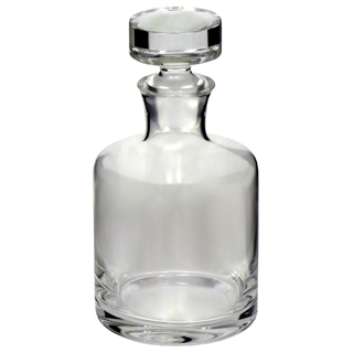 Round Spirit / Whisky Decanter with Stopper 750ml