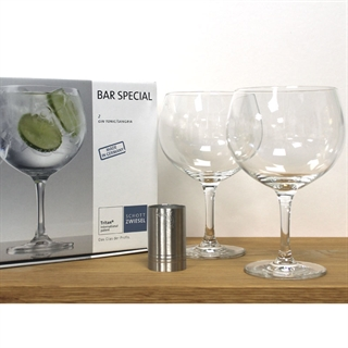 Gin and Tonic Set - Gin and Tonic / Copa Glasses & Measure Set
