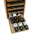 24 Bottle Showcase Pull Out Wooden Wine Rack