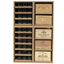 Showcase Wooden Wine Bottle Display - 120 Bottles