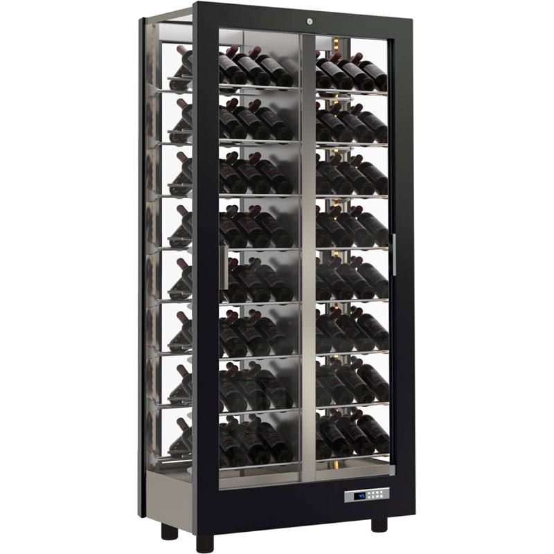 Teca Vino Multi Temperature Wine Cabinet - 112 Bottle Capacity TV12V Linear  Finish