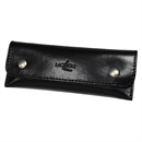 Forge De Laguiole Waiter's Corkscrew Leather Pouch / Corkscrew Holder - Shiny Black Case