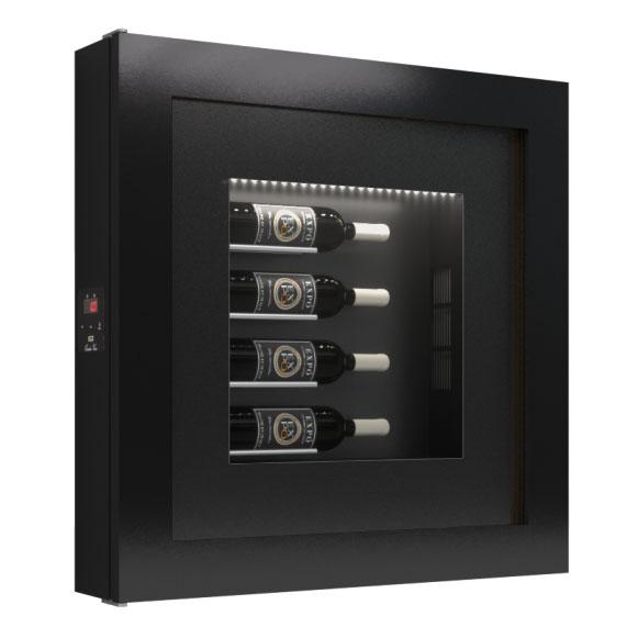Quadro Vino Single Temperature Wall Mounted Champagne Cabinet 4