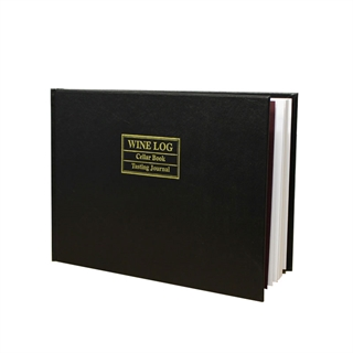 Leather Bound Wine Log / Wine Book