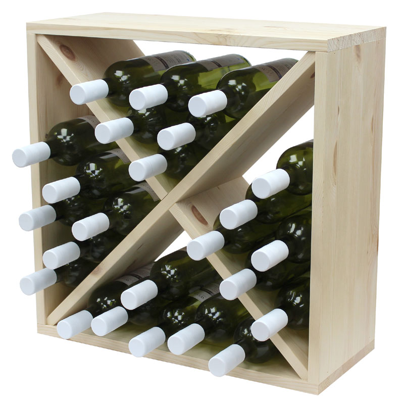 preparing asp wooden wine zoom enthusiast cube rack bottle stack