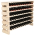 Modularack Wooden Wine Rack - Natural Pine with Top 6H x 12W