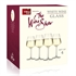 The Wine Show by Vacu Vin White Wine Glasses - Set of 4