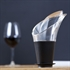 The Wine Show by VacuVin Wine Pourer / Server - Black - Set of 2