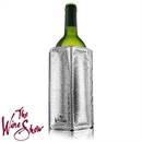 The Wine Show by Vacu Vin Rapid Ice Wine Cooler Sleeve - Silver