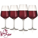 The Wine Show by VacuVin Red Wine Glasses - Set of 4