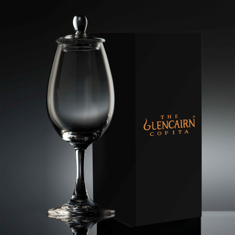 the glencairn official whisky sherry nosing copita glass with tasting cap glassware uk. Black Bedroom Furniture Sets. Home Design Ideas