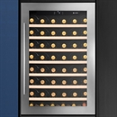 Caple Wine Cabinet Classic - Single Temperature Slot-In - Stainless Steel WC6500