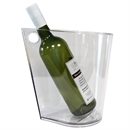 Wineware Modern Wine & Champagne Cooler / Ice Bucket - Clear