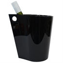 Wineware Modern Wine & Champagne Cooler / Ice Bucket - Black