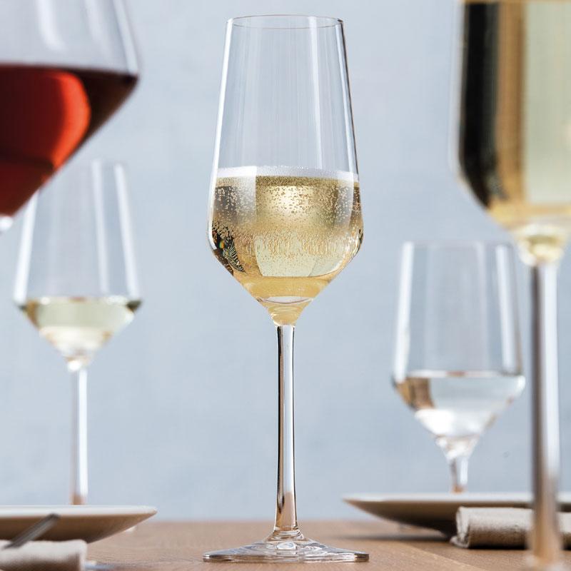 8879e12d7dd8 Schott Zwiesel Pure Champagne Glasses   Flute - Set of 2