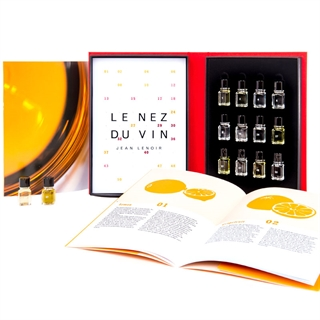 Le Nez Du Vin - 12 Aromas White Wine and Champagne - Aroma Kit