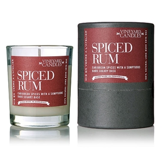Vineyard Candles Spiced Rum Scented Candle - Shot Glass