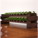 Modularack Wooden Wine Rack 20 Bottle - Dark Stain 2H x 10W