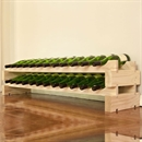 Modularack Wooden Wine Rack 24 Bottle - Natural Pine 2H x 12W