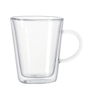 Montana Double Wall Coffee Cup with Handle 350ml - Set of 6