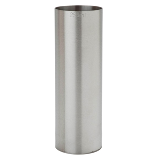 Professional Stainless Steel Thimble Bar Wine Measure 250ml